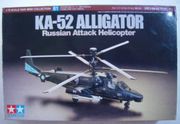 KA-52 Alligator Russian Attack Helicopter 1/72 Tamiya - Airplanes
