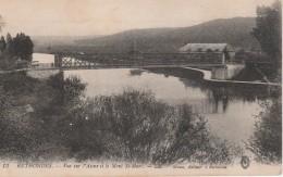 RETHONDES Vue Sur L'Aisne Et Le Mont St Marc, Pont - Rethondes