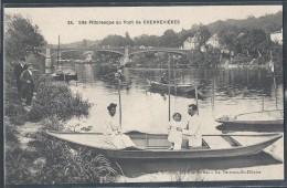 CPA 94 - Chennevières, Site Pittoresque Au Pont - Chennevieres Sur Marne