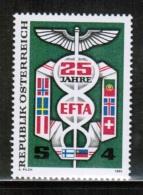 EUROPEAN IDEAS 1985 EFTA AT MI 1813 AUSTRIA - Idee Europee