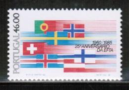 EUROPEAN IDEAS 1985 EFTA PT MI 1655 PORTUGAL - Idee Europee