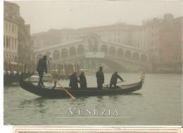 CPM ITALIE VENISE VENICE VENEZIA PONTE DI RIALTO TIMBRE CONCORDANT - Venezia (Venice)