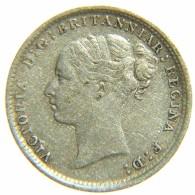 [NC] GRAN BRETAGNA 3 PENCE 1884 SILVER ARGENTO - F. 3 Pence