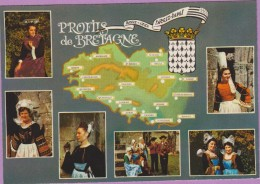 29 °° Profils Bretons - Breiz Huel ; Breiz Izel ° NEUVE - Autres Communes