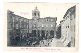 Senigallia Palazzo Comunale E Piazza Roma Non Viaggiata COD.C.1913 - Senigallia