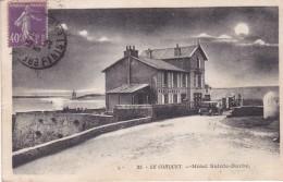 29. LE CONQUET. CPA. HOTEL SAINTE BARBE . AFFRANCHIE ANNÉE 1920 - Le Conquet
