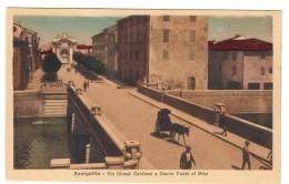Senigallia Via Giosuè Carducci E Nuovo Ponte Sul Misa  Non Viaggiata COD.C.1915 - Senigallia