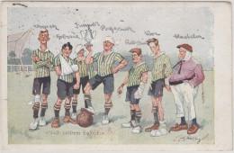 Fritz Schönpflug: Nach Heissem Kampfe, Fußball , Old Postcard - Schoenpflug, Fritz