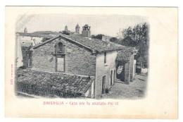 Senigallia Casa Ove Fu Allattato Pio IX°  Non Viaggiata COD.C.1918 - Senigallia