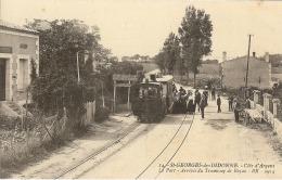 17– Saint-George De Di Donne – Côte D'Argent – Le Port–arrivée Du Tramway De Royan - Saint-Georges-de-Didonne