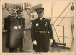 GUERRE - MILITARIA - DARLAN En 1936 à Bord Du Provence - Guerre, Militaire