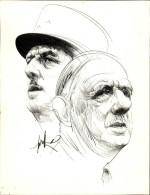 GUERRE 39-45 - GENERAL DE GAULLE - Posters