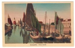 Senigallia Porto Canale Non Viaggiata COD.C.1921 - Senigallia