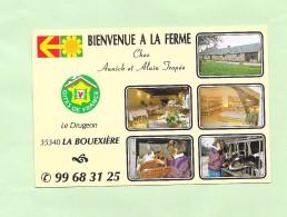 35 LA BOUEXIERE    LE DRUGEON   BIENVENUE A LA FERMME - Other Municipalities