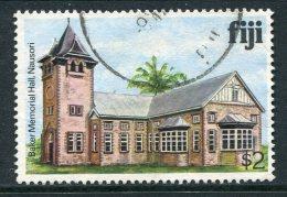 Fiji 1979-94 Architecture - No Imprint Date - $2 Baker Memorial Hall Used (SG 595A) - Fiji (1970-...)