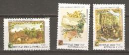 Australia 1982 SG 856-58 Christmas Unmounted Mint - Nuevos