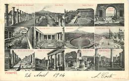 Italie - Italia - Campania - Pompei - Multivues - Multiview - 2 Scans - état - Pompei