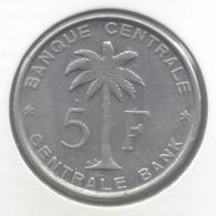 CONGO - BOUDEWIJN * 5 Frank 1959 * F D C * Nr 9012 - Congo (Belge) & Ruanda-Urundi