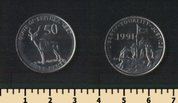 Eritrea 50 Cents 1997 - Erythrée