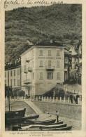 Italie - Italia - Piemonte - Verbania - Lago Maggiore - Particolare Del Porto E Albergo - Saluti Da Cannobio - état - Verbania