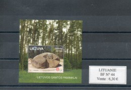 Lituanie. Bloc Feuillet. Puntuko Akmuo - Lithuania