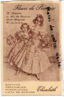 - Brignoles - ( Var ), J Garrus, Fleurs De Provence, Santons, Céramiques, Elizbeth, Peu Courante, Non écrite, Scans. - Brignoles