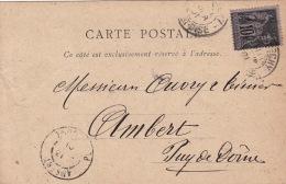 Type Sage Repiquage A.Bellair Etrechy (Seine Et Oise) - France