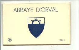Villers Devant Orval Abbaye Carnet De 8 Vues - Florenville