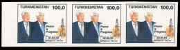 TURKMENISTAN - Peace & Progress - 3 Valori: 21.03.93 / 22.03.93 / 23.03.93 - Turkmenistan