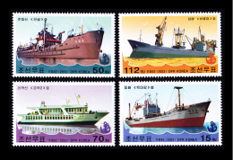 2003 North Korea Stamps Ship 4v MNH - Korea, North