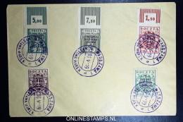 Poland Cover 1919 Michel 110 B - 122 B - 1919-1939 Republik