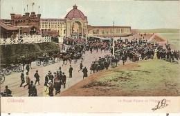 OOSTENDE-ROYAL PALACE ET HIPPODROME D'OSTENDE-cheval-horse-paard - Oostende