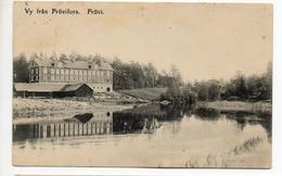 CPA  SUEDE . FROVI . VY FRAN FROVIFORS . 1909 - Zweden