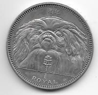 *gibraltar 1 R Oyal ( Crown) 1994  Pekinees  Bu - Gibilterra