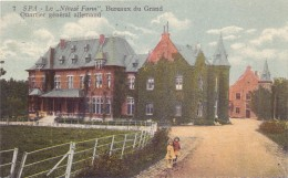 """B 4900 SPA, Le """"Niveze Farm"""", Bureau Du Grand Quartier General Allemand, Deutsches Hauptquartier - Spa"""