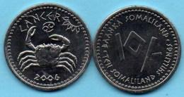 SOMALILAND / SOMALIE 10 Shillings Signe Zodiaque CANCER  2006  UNC / NEUVE - Somalie