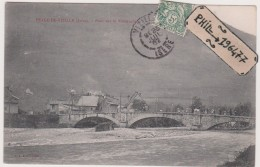 38 Vizille - Cpa / Pont Sur La Romanche. - Vizille