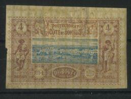 COTE  DES  SOMALIS (  POSTE  ) : Y&T  N°  8  TIMBRE  TIMBRE  NEUF  AVEC  TRACE  DE  CHARNIERE , A  VOIR . - Französich-Somaliküste (1894-1967)