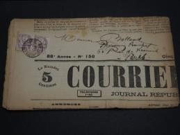 FRANCE – Type Blanc Sur Journal – Début 1900 - Détaillons Collection - A Voir  - N° 17546 - Journaux