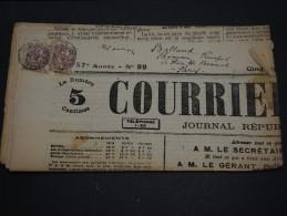 FRANCE – Type Blanc Sur Journal – Début 1900 - Détaillons Collection - A Voir  - N° 17547 - Journaux