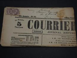 FRANCE – Type Blanc Sur Journal – Début 1900 - Détaillons Collection - A Voir  - N° 17548 - Journaux