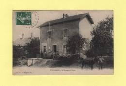 Velesmes - Le Bureau De Poste - Francia