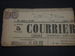 FRANCE – Type Blanc Sur Journal – Début 1900 - Détaillons Collection - A Voir  - N° 17549 - Journaux