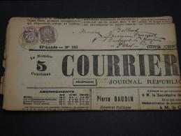 FRANCE – Type Blanc Sur Journal – Début 1900 - Détaillons Collection - A Voir  - N° 17550 - Journaux