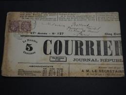 FRANCE – Type Blanc Sur Journal – Début 1900 - Détaillons Collection - A Voir  - N° 17551 - Journaux