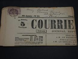 FRANCE – Type Blanc Sur Journal – Début 1900 - Détaillons Collection - A Voir  - N° 17552 - Journaux