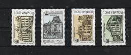 2000  - Palais De Bucurest Mi 5519/5522 Et Yv 4631/4634 MNH - 1948-.... Republiken