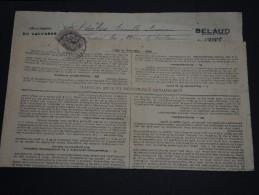 FRANCE – Type Blanc Sur Avertissement Des Contributions Directes - Détaillons Collection - A Voir - N° 17554 - 1900-29 Blanc