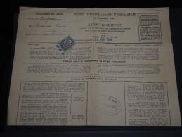 FRANCE – Type Blanc Sur Avertissement Des Contributions Directes - Détaillons Collection - A Voir - N° 17558 - 1900-29 Blanc