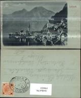 156622,Hallstatt B. Mondschein 1902 - Österreich